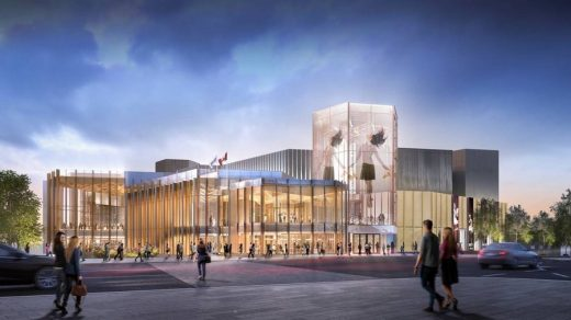NAC Performing Arts Venue Ontario by Diamond Schmitt Architects