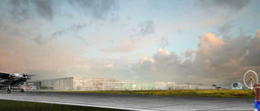 Parc des Expositions Toulouse design by OMA Architects