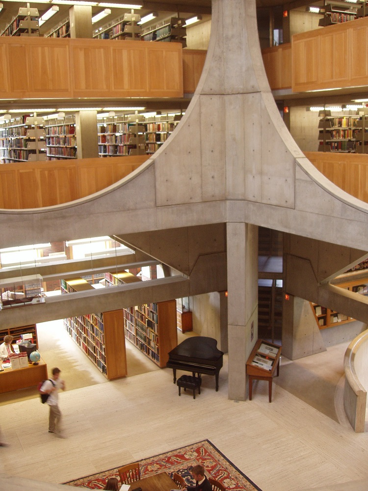 David Lloyd Exeter >> Exeter Library, Louis Kahn New Hampshire Building - e-architect