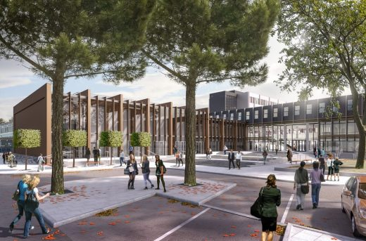 Refurbishment at Oxford Brookes University Berman Guedes Stretton BGS