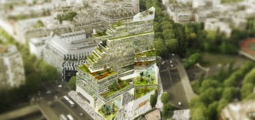 Reinventer Paris Building design