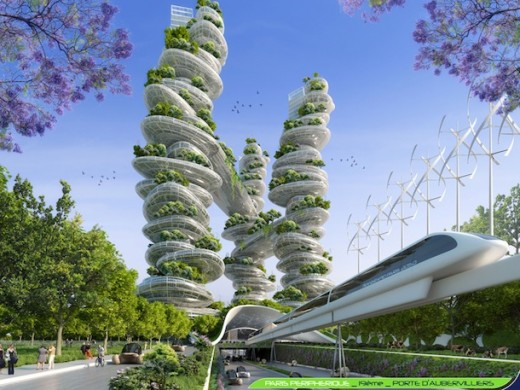 Reinventer Paris Building design by Vincent Callebaut