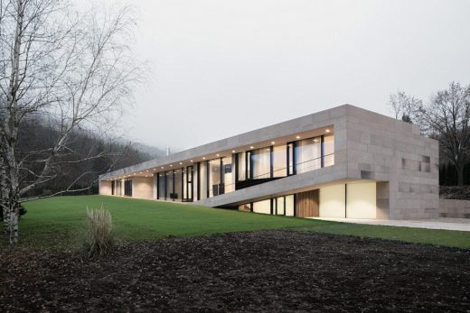 Slight Slope Long House