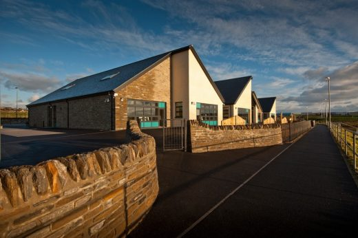 Stromness Primary New School Building in Orkney