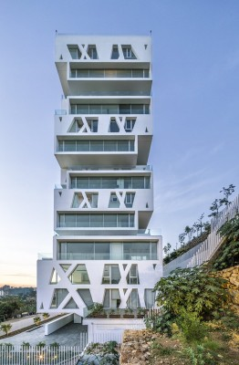 Contemporary Beirut Residential Building design by Orange Architects