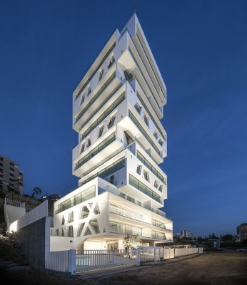 Contemporary Lebanese Residential Building design by Orange Architects