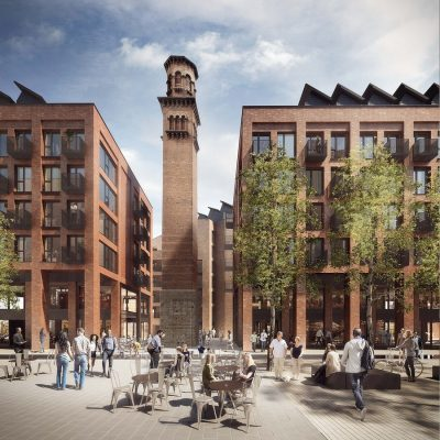Tower Works development in Leeds