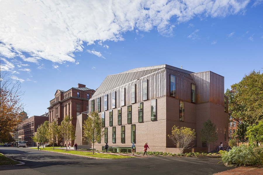 Tozzer anthropology building 1 e architect for Architecture harvard