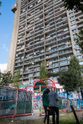 Trellick Tower Building in London by Erno Goldfinger Architect