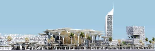 Tripoli Media Cultural City Libyan Building