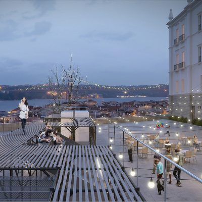 Urban Platform Flexible structure in Lisbon