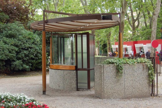 Venice Biennale ticket booth