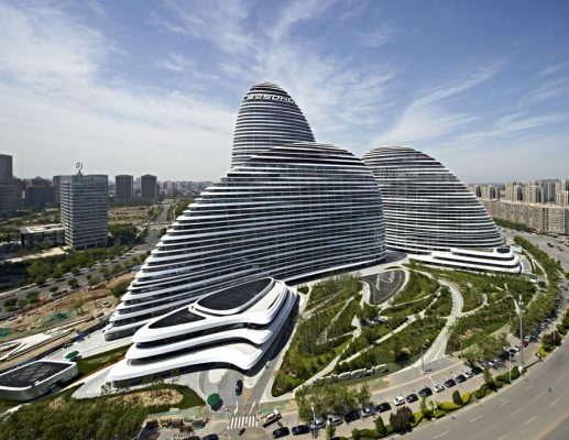 Wangjing SOHO tall building