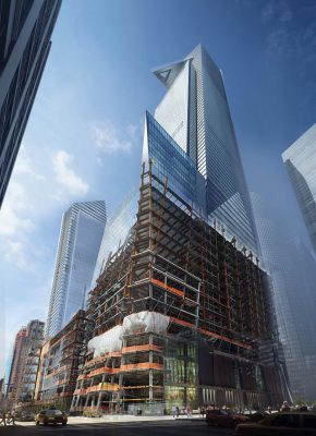 30 Hudson Yards tower construction