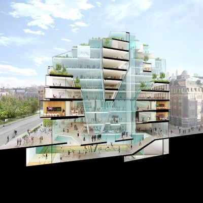 Apartment Design Competition futuristic architecture: 44 lincolns inn fields: lse design