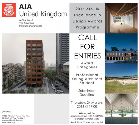 AIA UK Excellence In Design Awards