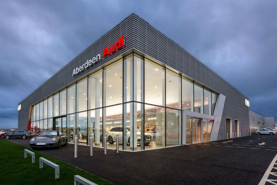 Audi garage aberdeen 1 e architect for Garage audi tours