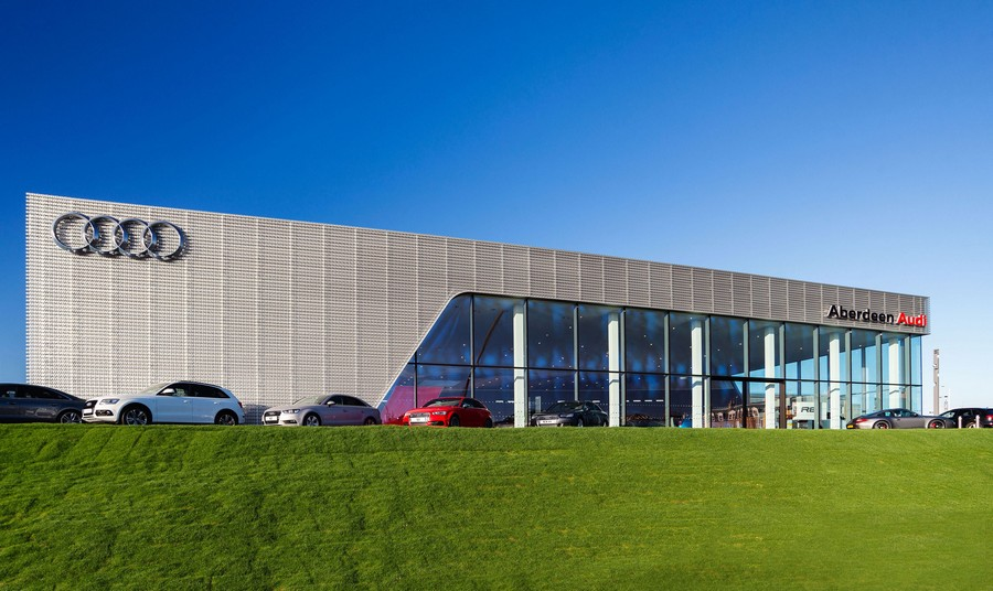 Audi garage aberdeen 5 e architect for Garage audi tours