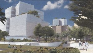 Beverly Hills Campus building design by Frank Gehry architect