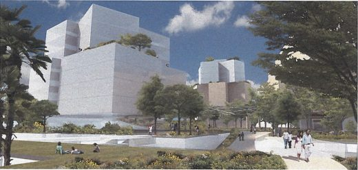 Townscape Partners Development Los Angeles design by Frank Gehry architect