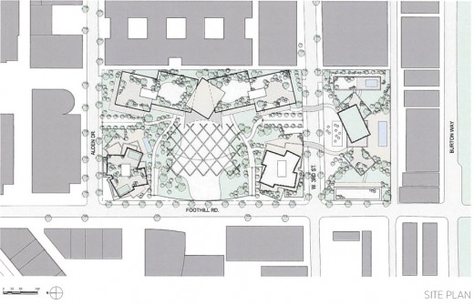 Los Angeles campus plan by architect Frank Gehry