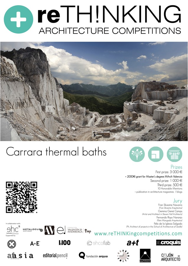 Carrara Thermal Baths Architecture Competition