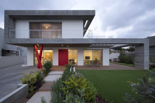 Concrete House In Even Yehuda E architect