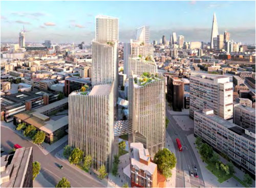 Elephant & Castle New Cultural Quarter by SOM