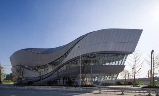 Gallery at Hongqiao World Centre design by Aedas Architects