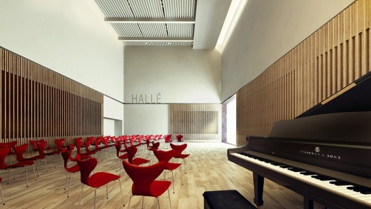 Extension to Hallé St. Peter's, Ancoats winning design by Stephenson Studio