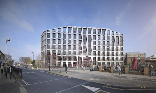 Hounslow civic centre building design