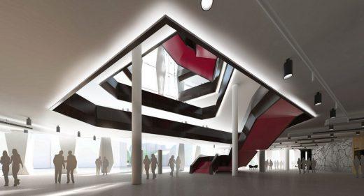 Hounslow civic centre building design