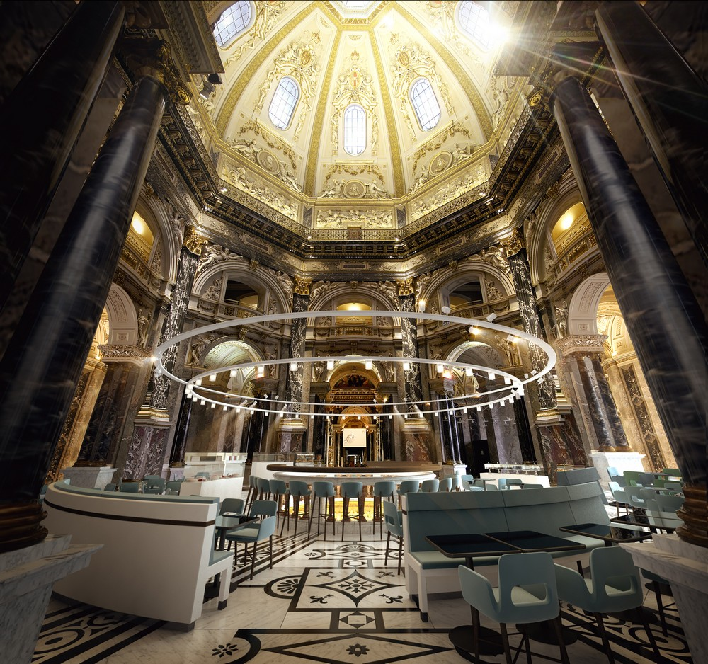 Kunsthistorisches Museum Cafe And Bistro 2 E Architect