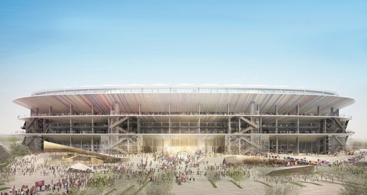 New Camp Nou FC Barcelona Stadium Nikken Sekkei design