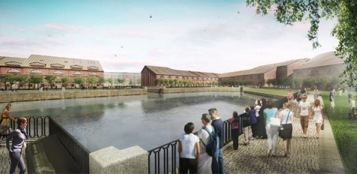 New Holland Island's first phase design by West8