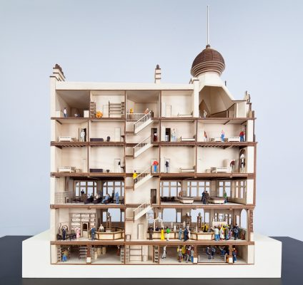 Model for a new Victorian Pub, Aberrant Architecture