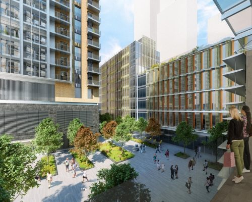 Nine Elms Over Site Development