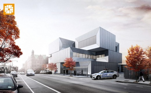 NYPD 40th precinct police station by BIG