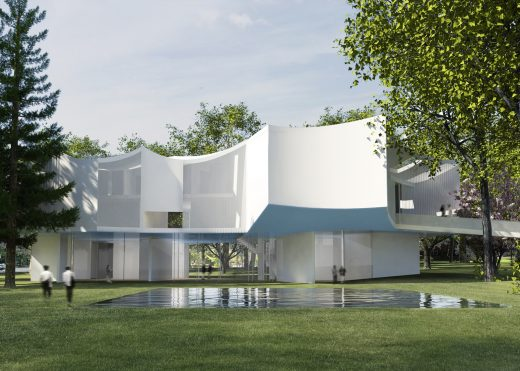 Pennsylvania Arts Centre building by Steven Holl Architects