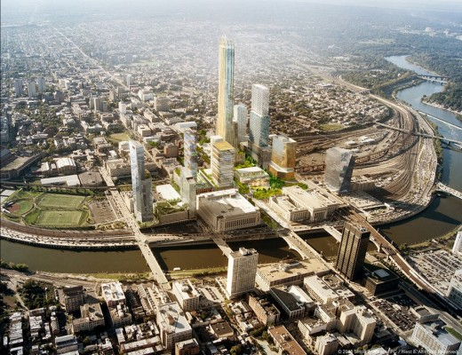 Schuylkill Yards District Built