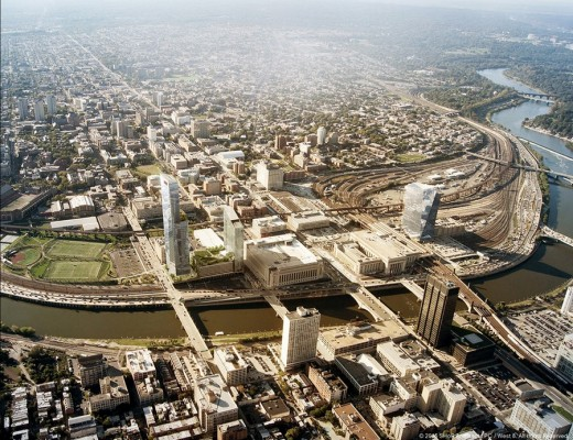 Schuylkill Yards District Existing