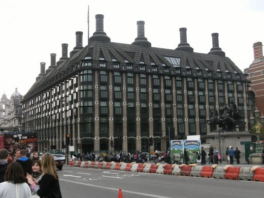 Portcullis House London Building