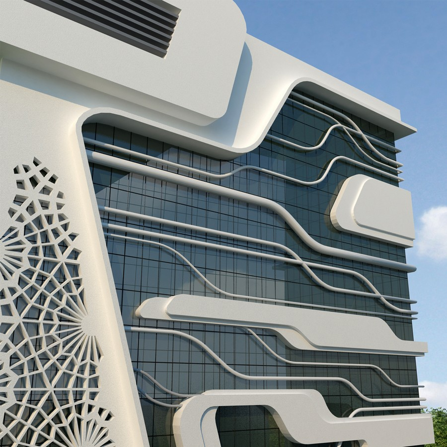 Qazvin Gas Company Office Building Iran E Architect