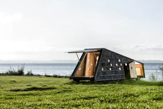Shelters by the Sea on Fyn