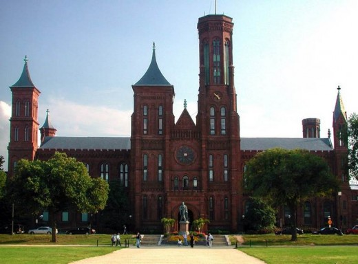 Smithsonian Institution building Washington DC