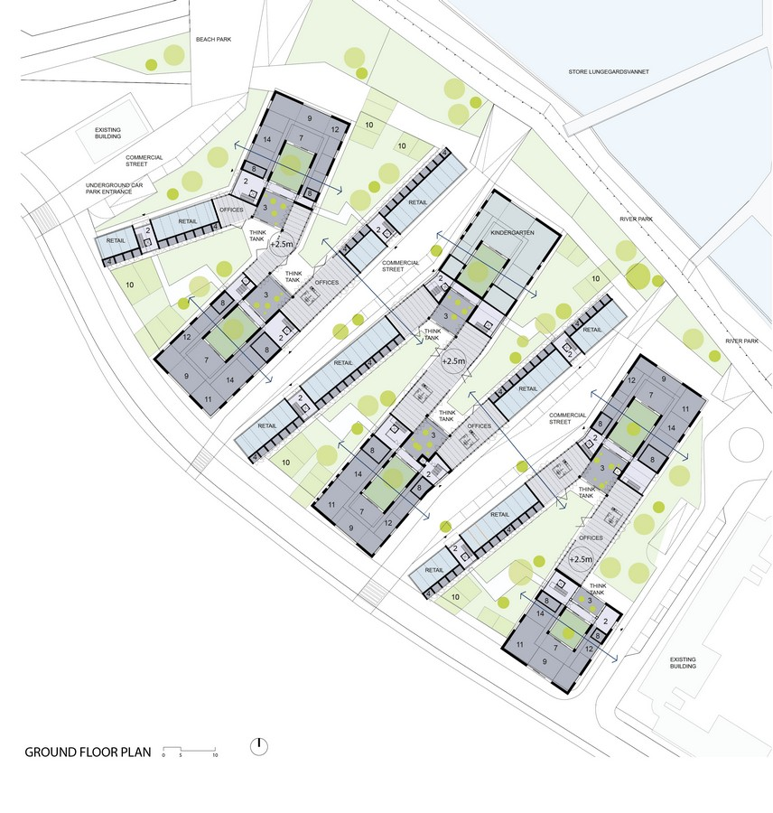 Social housing in bergen 9 e architect for Architecture plan