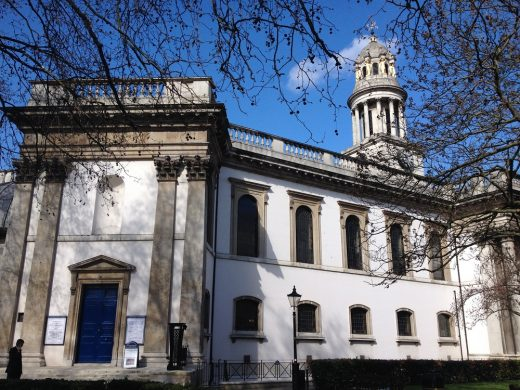 St Marylebone Parish Church building