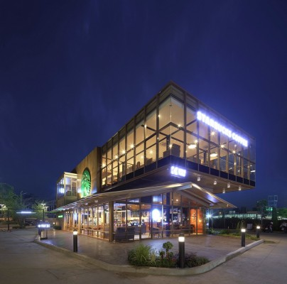 Starbucks Food Villa In Bangkok E Architect