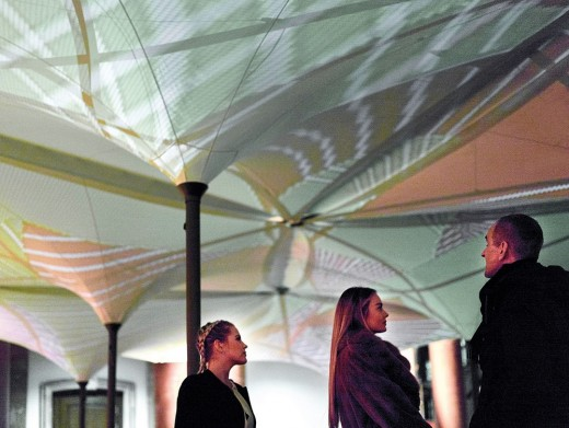 Tessellating Canopy System