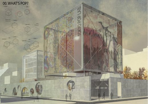 Tokyo Pop Lab architecture competition winner